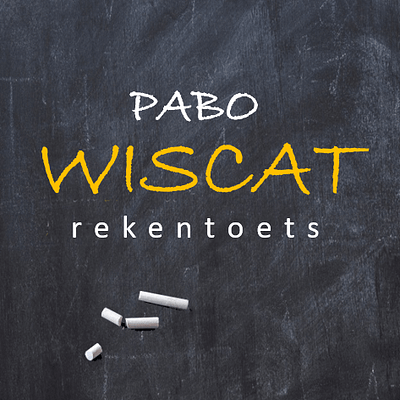 Tips oefenen wiscat
