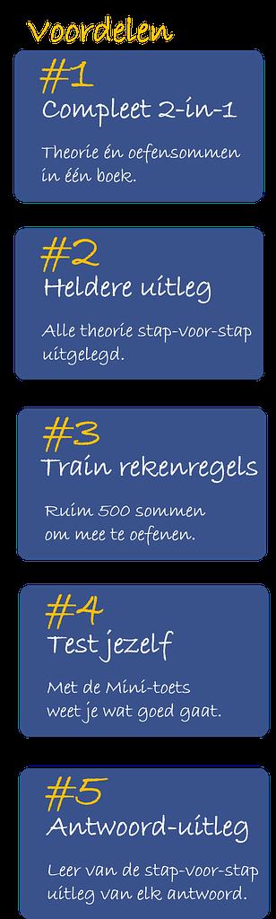 voordelen 1-5