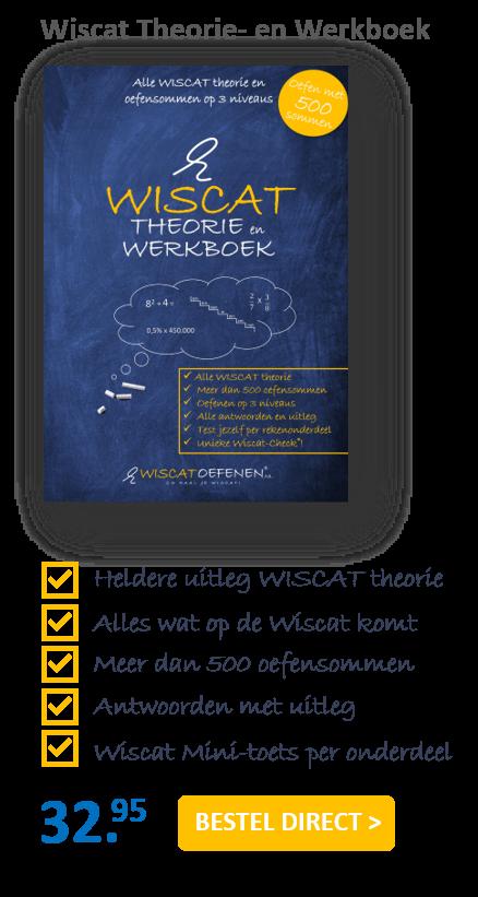 wiscat theorie- en werkboek voordelen