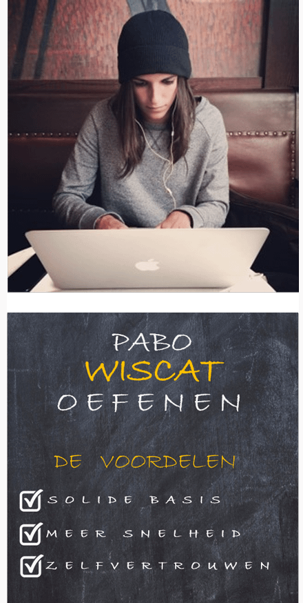Wiscat oefenen Pabo Wiscat rekentoets oefenen