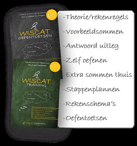 wiscat training lesmateriaal lijst