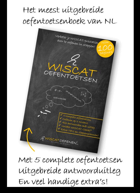 Wiscat oefentoetsenboek NL